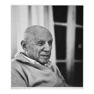 1967-1971 Pablo Picasso Parisian Period Photogravure by Kurt Wyss For Sale