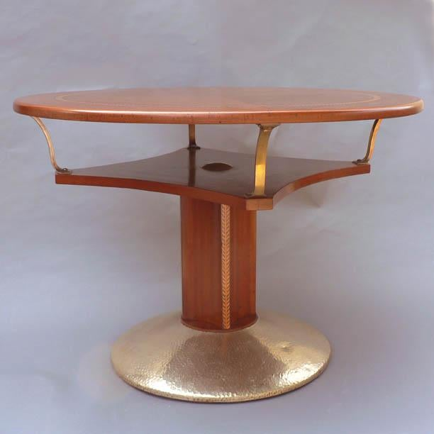 Unusual Secessionist Game Table For Sale - Image 4 of 6