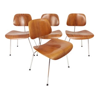 Eames for Herman Miller DCM Chairs - Set of 4 For Sale