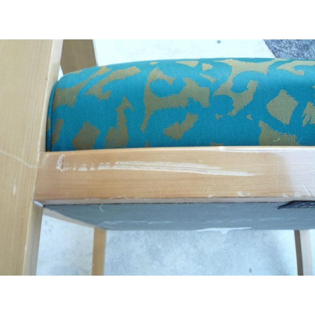 Pair of J. Robert Scott Sally Sirkin Lewis Deco Lounge Chairs For Sale - Image 9 of 13