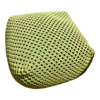 Paola Lenti Green Outdoor Berry Pouf
