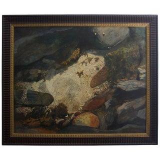 "Mid Century Vintage ""Tidel Basin"" Oil Painting For Sale"