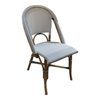 Serena & Lilly Riviera Side Chair Navy For Sale