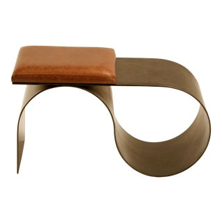 Bronze Sia Bench by Jason Mizrahi For Sale