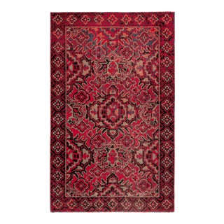 Jaipur Living Chaya Indoor Outdoor Medallion Red Black Area Rug 2'X3' For Sale