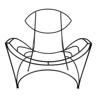 """""""Fat"""" Iron Chair by Tom Dixon For Sale"""