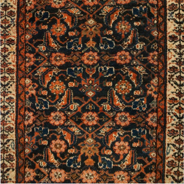 """Early 20th Century Persian Malayer Runner - 33"""" x 120"""" - Image 3 of 5"""