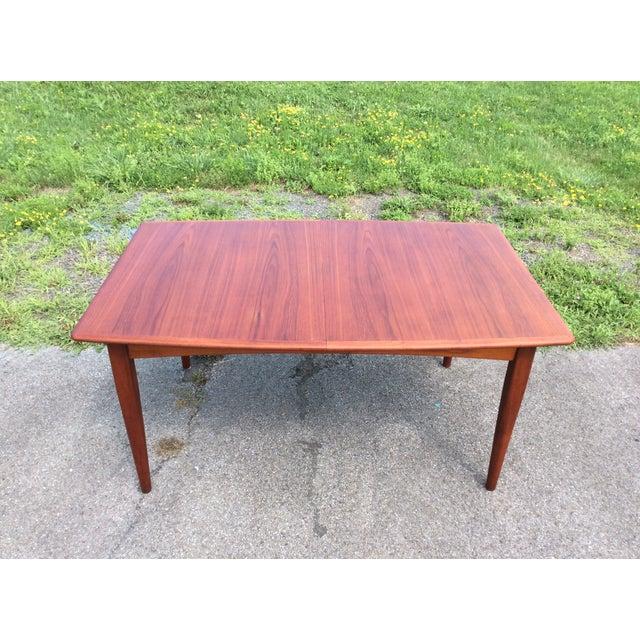 Refurbished Falster Teak Dining Table - Image 2 of 11