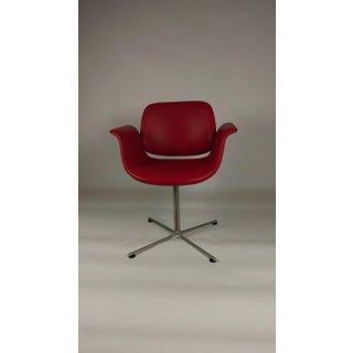 Foersom & Hjorth-Lorenzen Red Leather Flamingo Armchair Preview