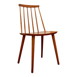 Danish Modern Spindle Chair in the Style of Folke Palsson For Sale
