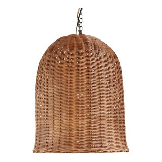 Coffee Stain Bell Lantern Medium For Sale
