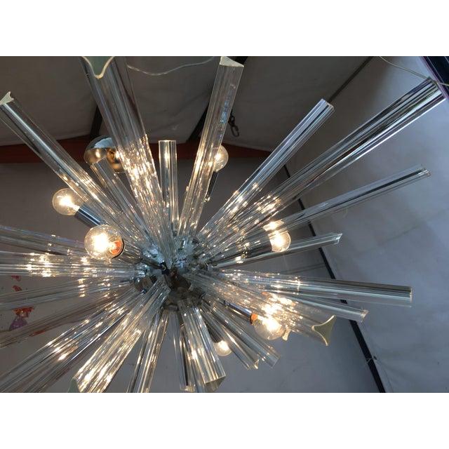 Italian Murano Glass Sputnik Chandelier For Sale - Image 12 of 13