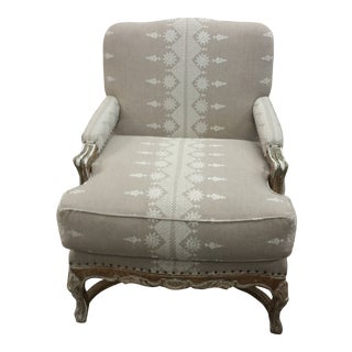 21st Century Sergio Chavez Bergere Chair For Sale