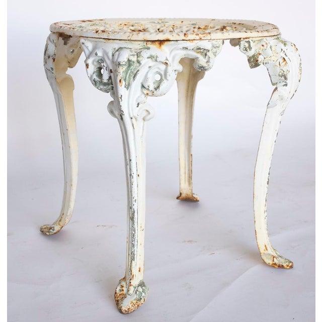 Fantastic 1960S Vintage Cast Iron Garden Stool Evergreenethics Interior Chair Design Evergreenethicsorg