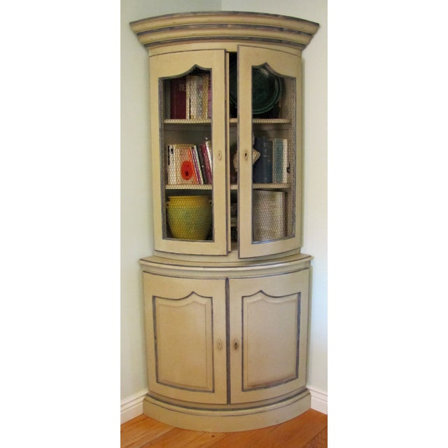 French Style Corner Cabinet - Image 2 of 5