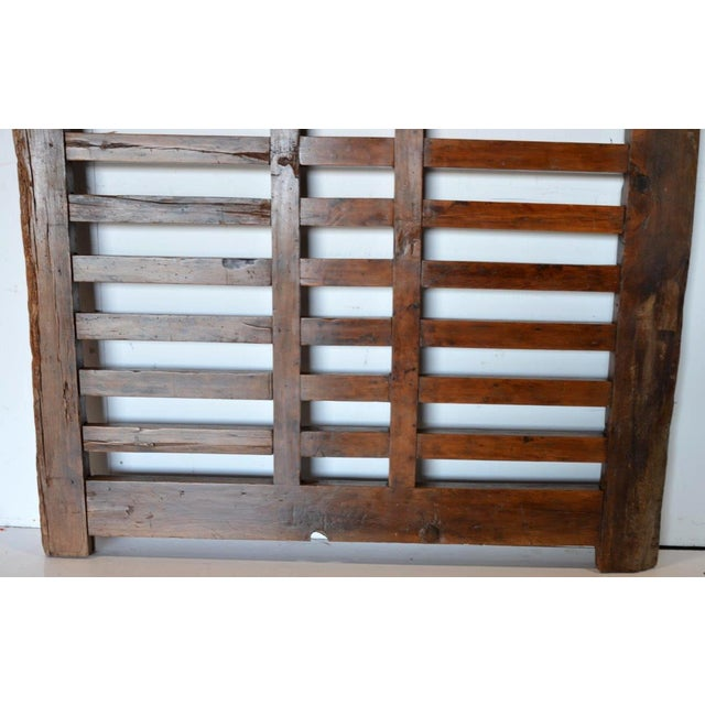Ceramic 1970s Chinese Wooden Gate/Room Divider For Sale - Image 7 of 8