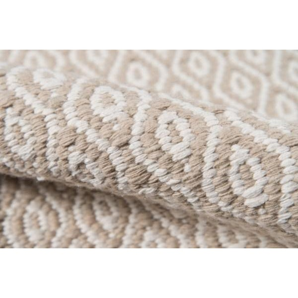 "Erin Gates Newton Davis Beige Hand Woven Recycled Plastic Runner 2'3"" X 8' For Sale - Image 4 of 5"