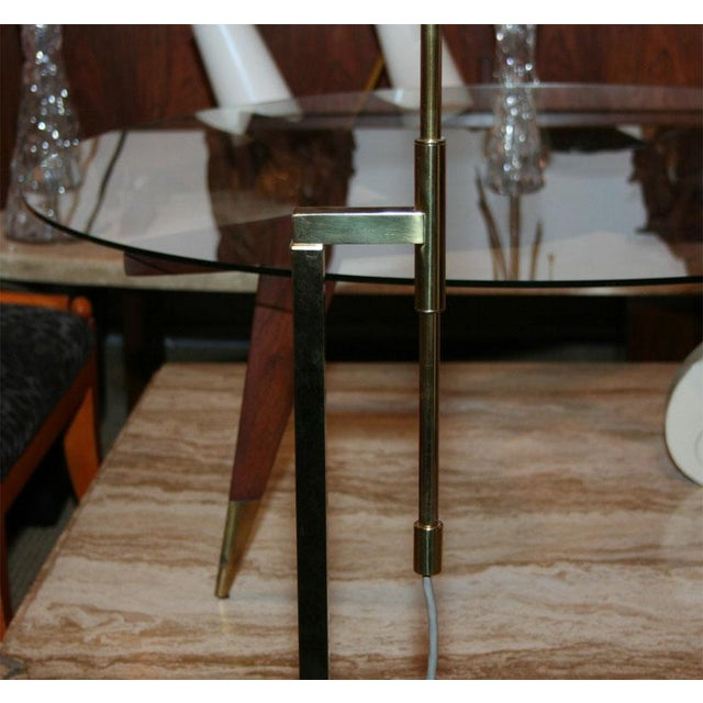 Mid-Century Modern Modernist Adjustable Floor Lamp by Laurel For Sale - Image 3 of 7