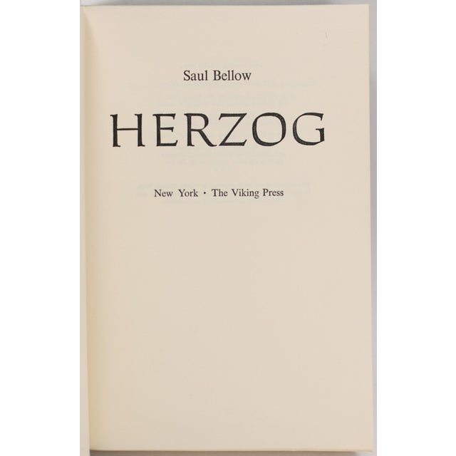 Herzog by Saul Bellow For Sale - Image 5 of 6
