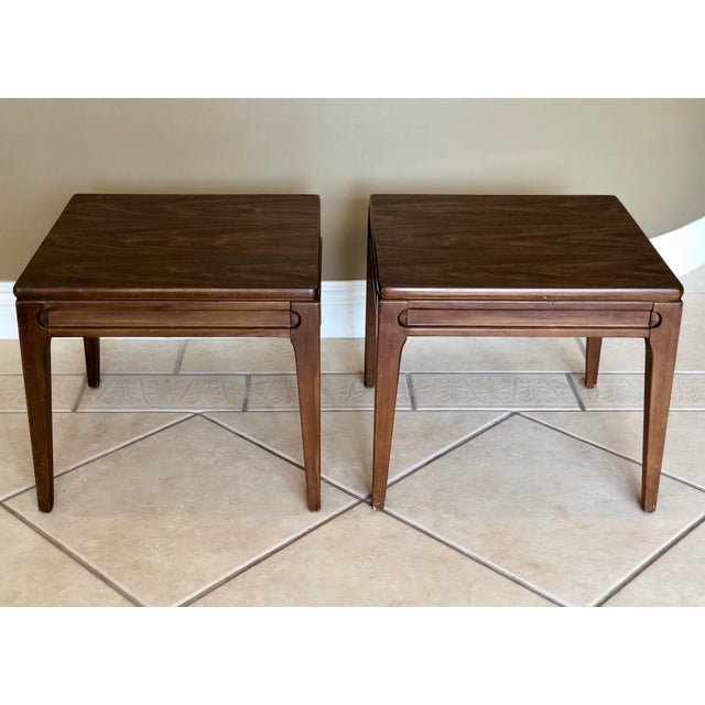 1960s Mid-Century Modern Mersman Side Tables - a Pair For Sale - Image 9 of 9