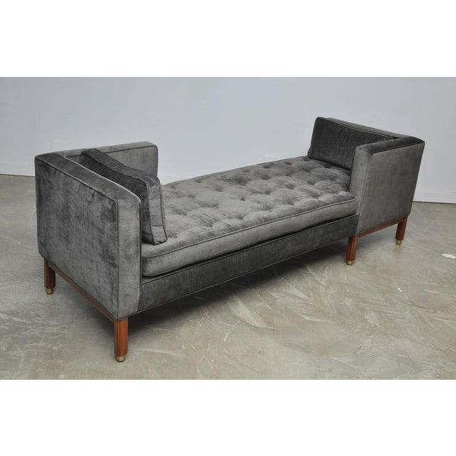 Dunbar Tete-a-tete Sofa by Edward Wormley - Image 4 of 7