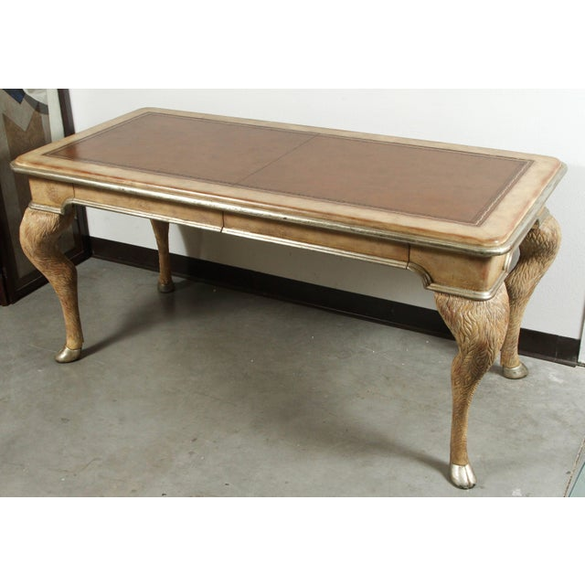 Opulent Classic Style Desk by Maitland-Smith For Sale In New York - Image 6 of 10
