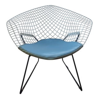 1950s Vintage Harry Bertoia for Knoll Wire Diamond Chair For Sale
