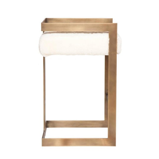Modern Set of 7 Murray Stools For Sale - Image 3 of 7