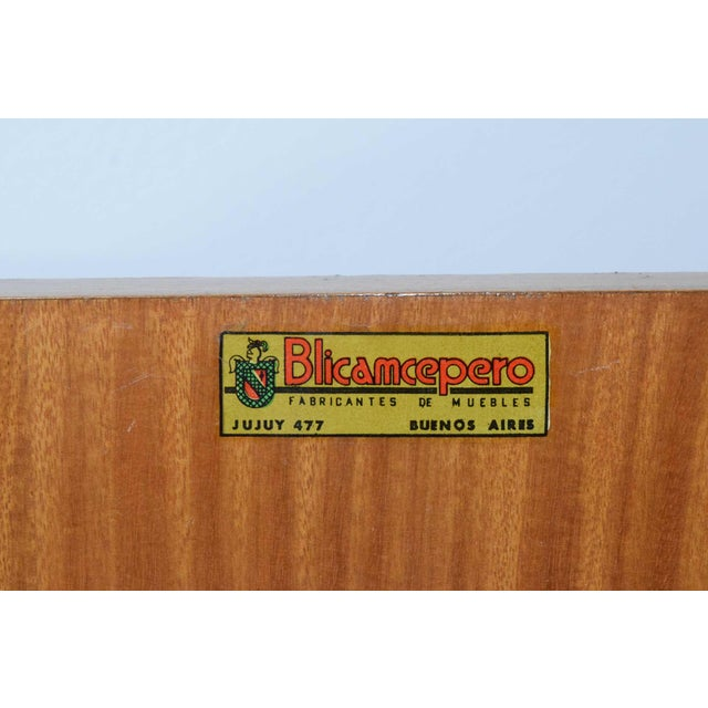 1960s African Mahogany Sideboard For Sale - Image 10 of 12