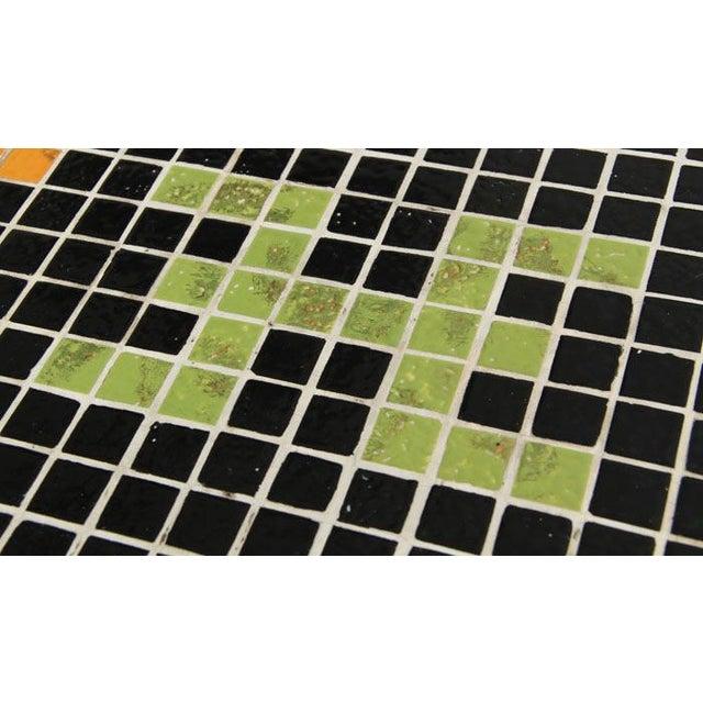 Huge Mid-Century Tile Mosaic Coffee Table - Image 5 of 5