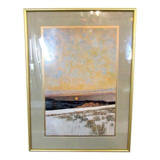 Framed Landscape Art Print For Sale