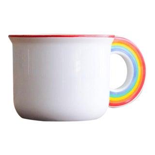 Vintage Japanese Cloud and Rainbow Teacup- a Pair