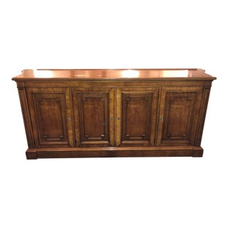 "Vintage Traditional ""Belvedere"" Sideboard Credenza by Kindel Furniture For Sale"