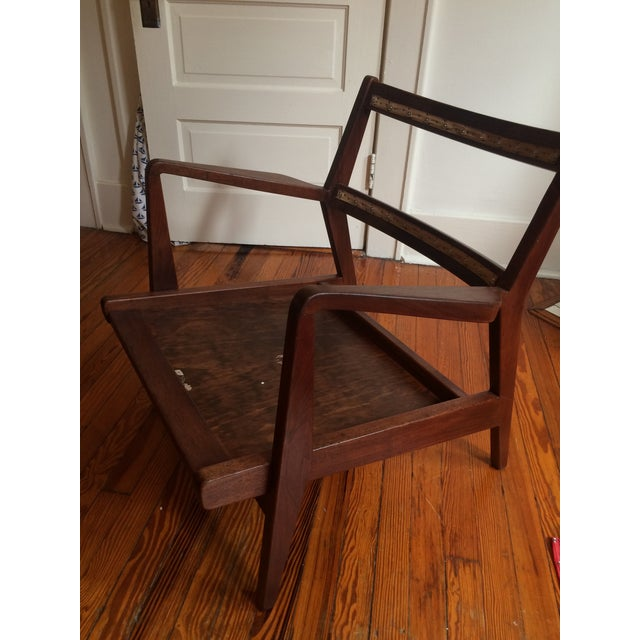 Mid-Century Walnut Lounge Chair - Image 10 of 10