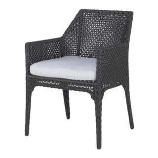 Century Furniture Outdoor Tangier Dining Arm Chair For Sale