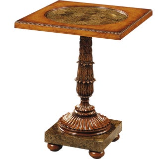 Scarborough House Myrtle Burl Occasional Table For Sale