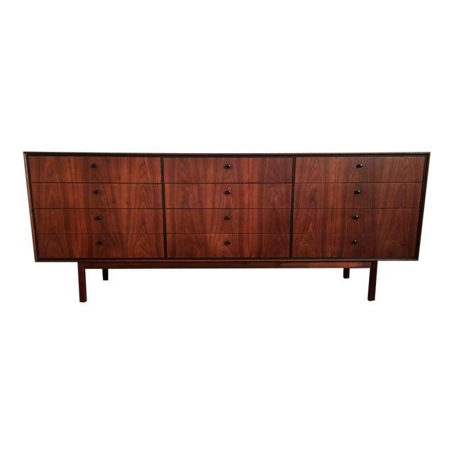 Milo Baughman for Arch Gordon Mid-Century Modern Walnut Lowboy Dresser - Image 1 of 10