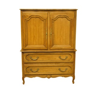"20th Century Italian Century Furniture40"" Door Chest / Armoire For Sale"