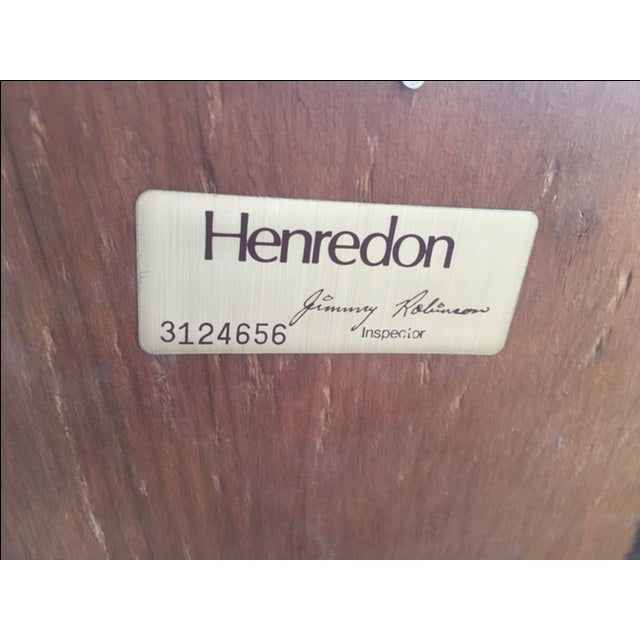 Henredon Vintage Henredon Campaign Mirror For Sale - Image 4 of 4