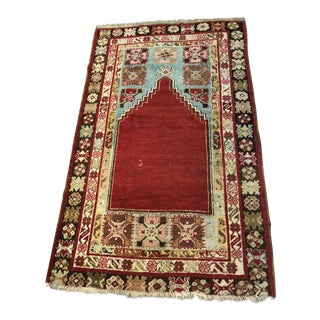 Antique Turkish Wool Rug For Sale
