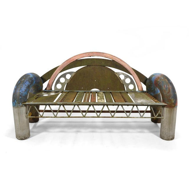 Gordon Chandler Bench Sculpture - Image 6 of 7
