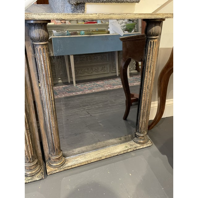 Traditional 1930s Smoked Glass Mirrors- a Pair For Sale - Image 3 of 5