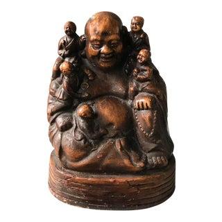 Vintage Laughing Buddha Statue