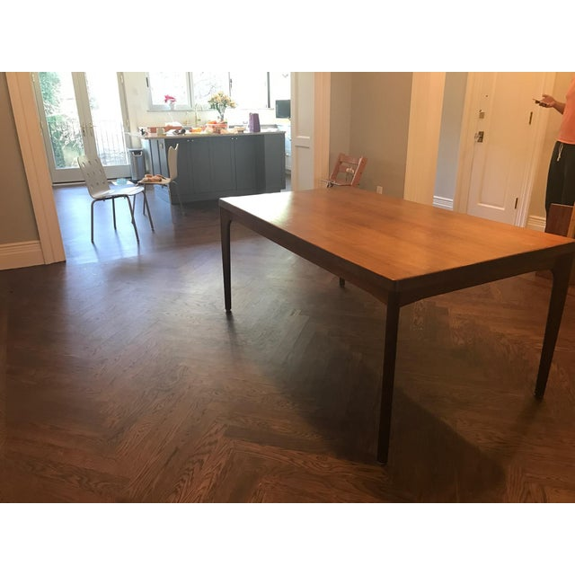 Danish Modern Dining Table with Two Leaves - Image 4 of 11