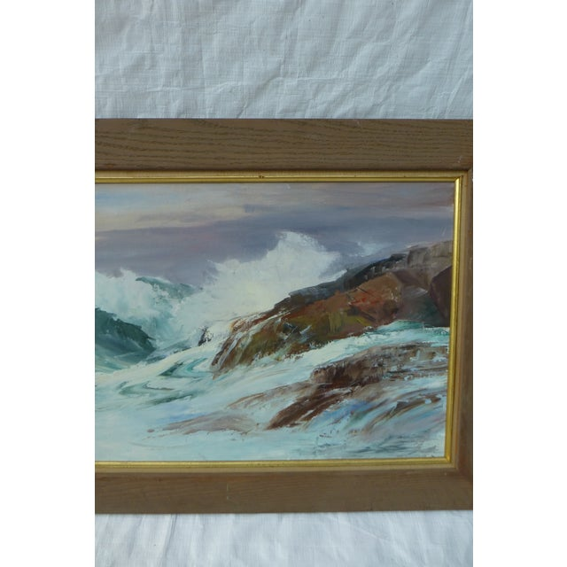 H. L. Musgrave Cape Ann Ocean Painting - Image 4 of 9