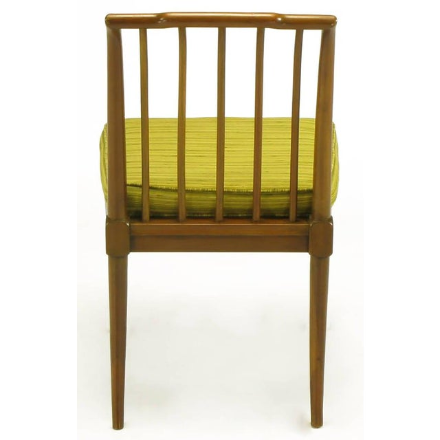 Six J. Stuart Clingman Dining Chairs by John Widdicomb For Sale In Chicago - Image 6 of 11