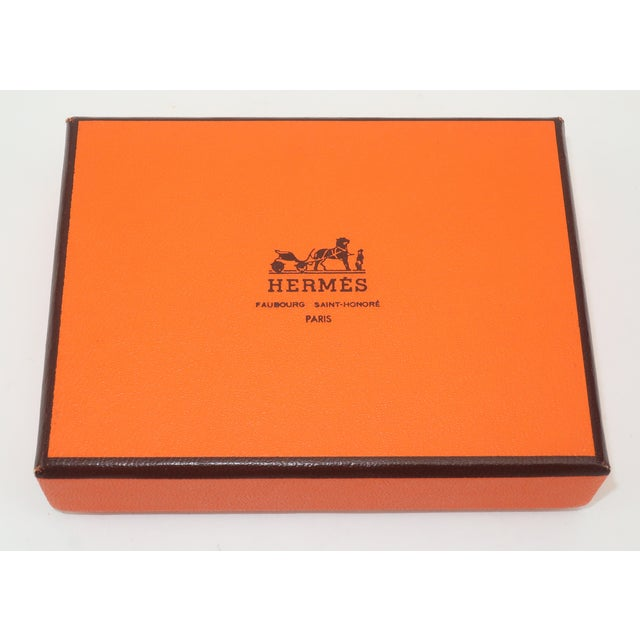 English Hermès Mini Playing Cards With Hound Dog Motif For Sale - Image 3 of 9