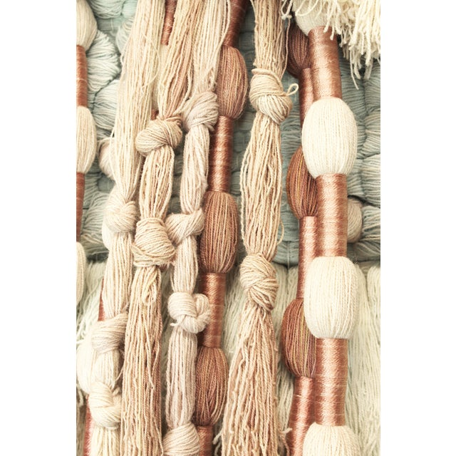 Substantial Hand-Loomed Wall Tapestry - Image 4 of 4