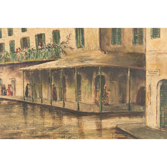 """""""New Orleans """" Oil Painting by George Orry-Kelly For Sale In Los Angeles - Image 6 of 10"""