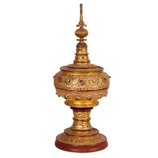 Thai Buddhist Offering Pedestal For Sale